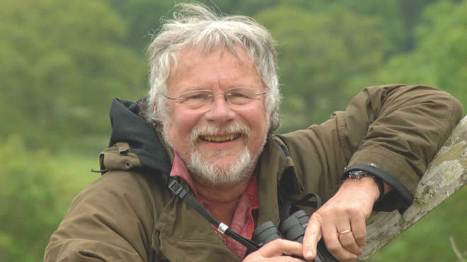 ZSL Animal Photography Prize judge Bill Oddie. Photo: Visit Britain