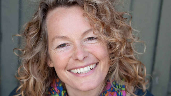 ZSL Animal Photography Prize judge Kate Humble. Photo: Clare Richardson