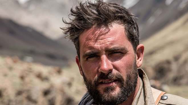 ZSL Animal Photography Prize judge Levison Wood. Photo: Tom McShane