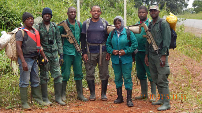 Antipoaching Patrol in Cameroon