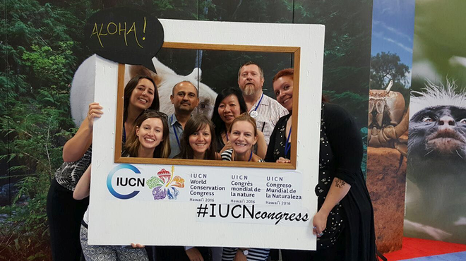 The ZSL Team at the IUCN World Conservation Congress 2016