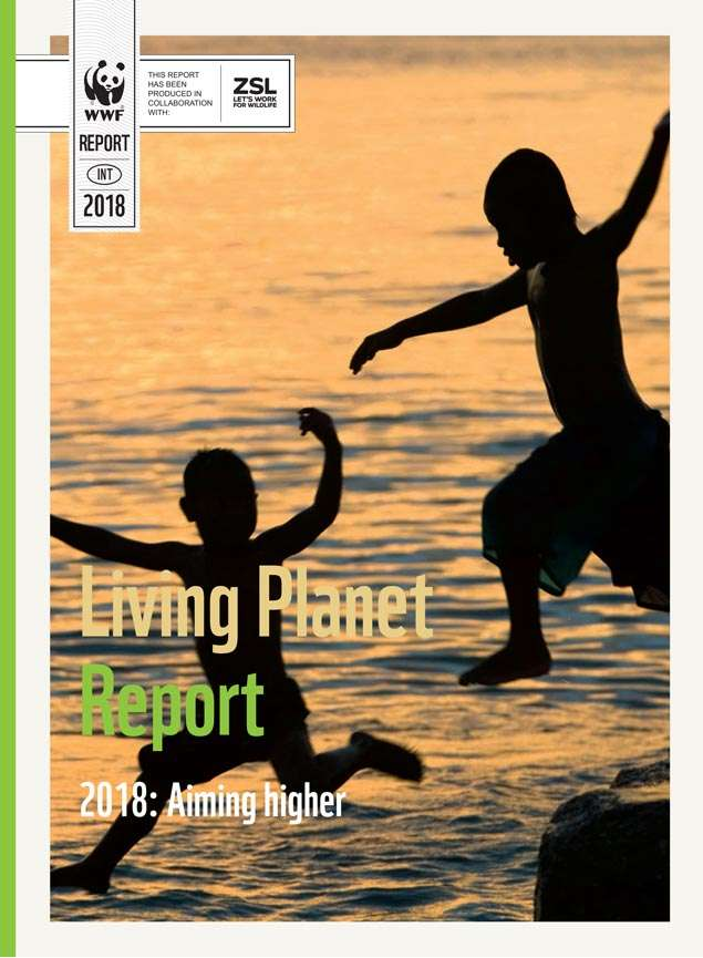 Living Planet Report 2018 Front Cover