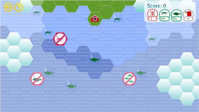 In-game screenshot of the map selection screen.