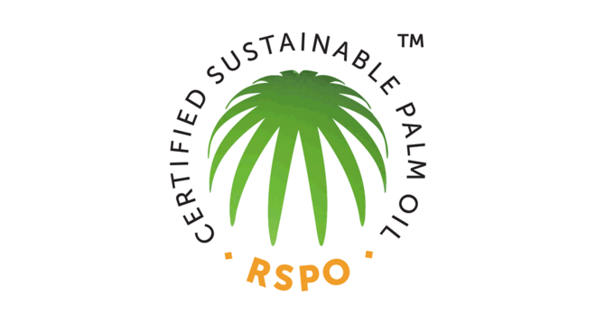 The RSPO logo for Certified Sustainable Palm Oil