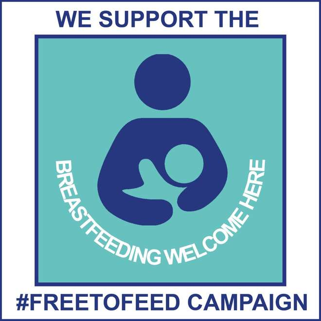 #FreeToFeed campaign sticker 2019